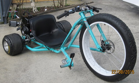 how to build a drift trike with pedals